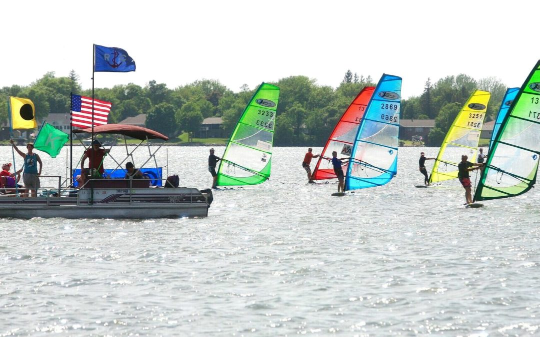 I TRICKED MY HUSBAND INTO BECOMING A WINDSURFER!